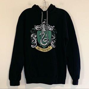 Harry Potter Slytherin Crest Sweatshirt Hoodie